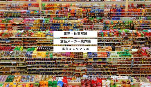 【業界解説】食品メーカー業界