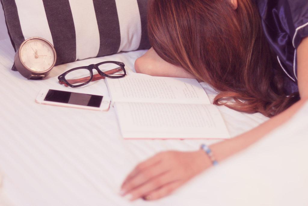 読書とお昼寝