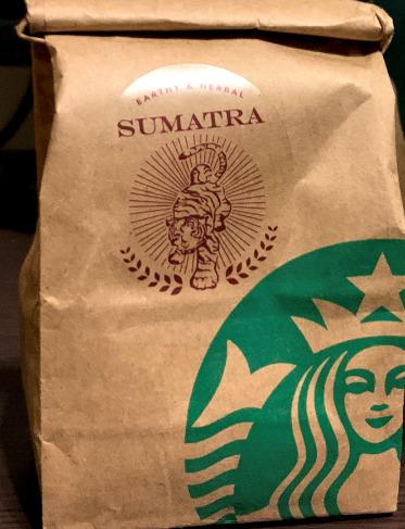 コーヒー豆「スマトラ」