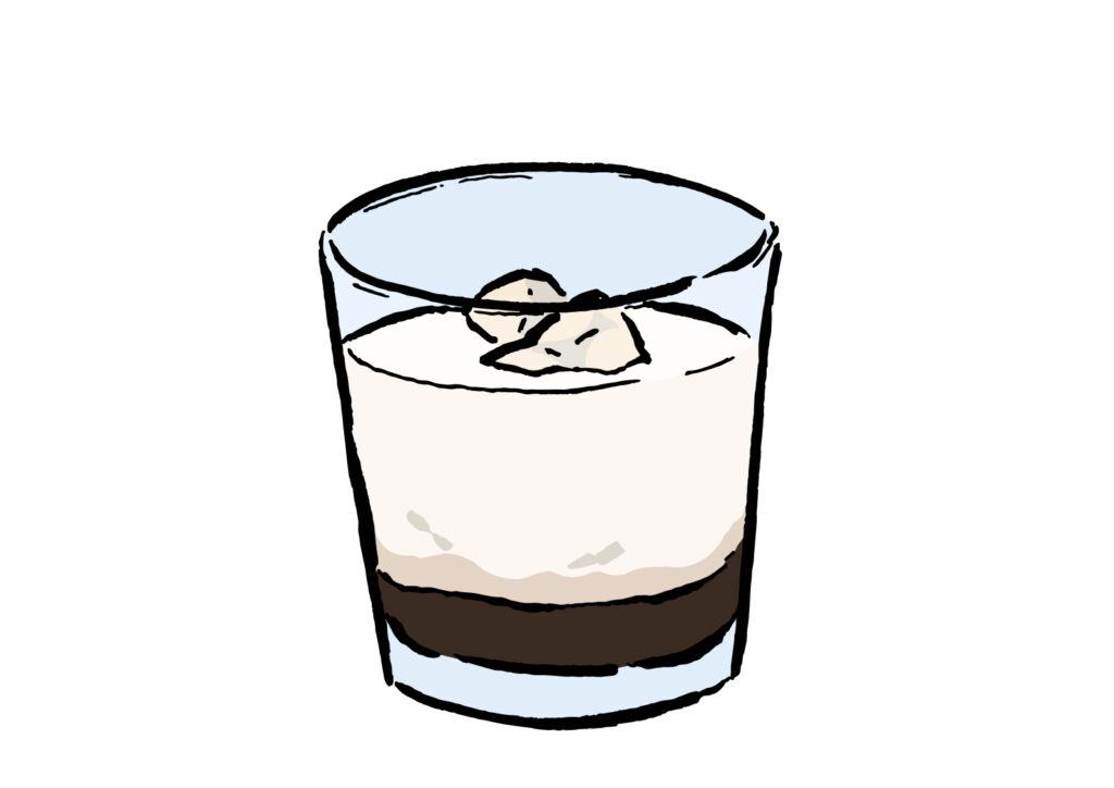 カルーアミルクのイラスト